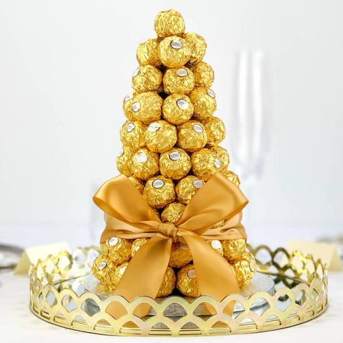 Ferrero Rocher Centre Piece - Gift baskets by Amora
