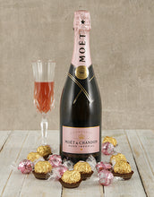 Load image into Gallery viewer, Moet Rose Ice Bucket - Gift baskets by Amora