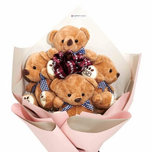 Load image into Gallery viewer, Teddy Bear Hugs - Gift baskets by Amora