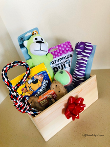 Dog Basket Gift Toy - Gift baskets by Amora