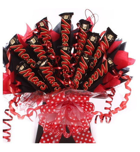 Mars Bar Chocolate Bouquet - Gift baskets by Amora