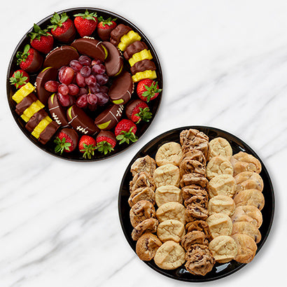 Platter and Cookies bundle - Gift baskets by Amora