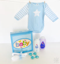 Load image into Gallery viewer, Johnson's Baby boy Gift Hamper - Gift baskets by Amora