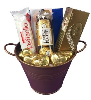 Chocolate Gift Basket - Gift baskets by Amora