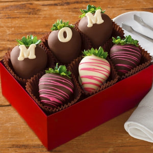 I Love Mom Dipped Berries - Gift baskets by Amora