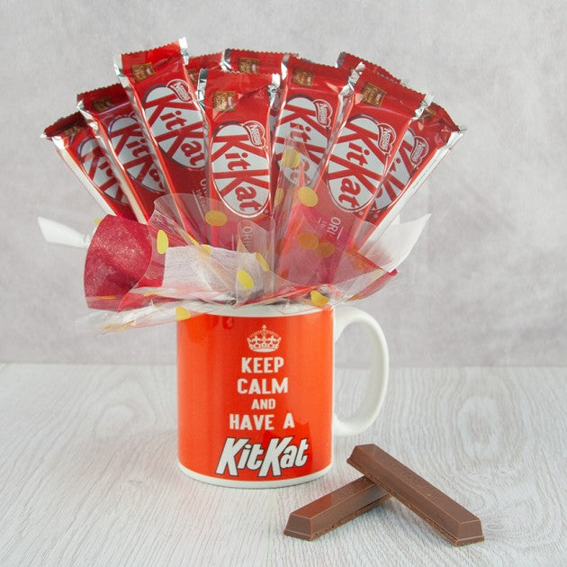 KitKat Mug Bouquet - - Gift baskets by Amora