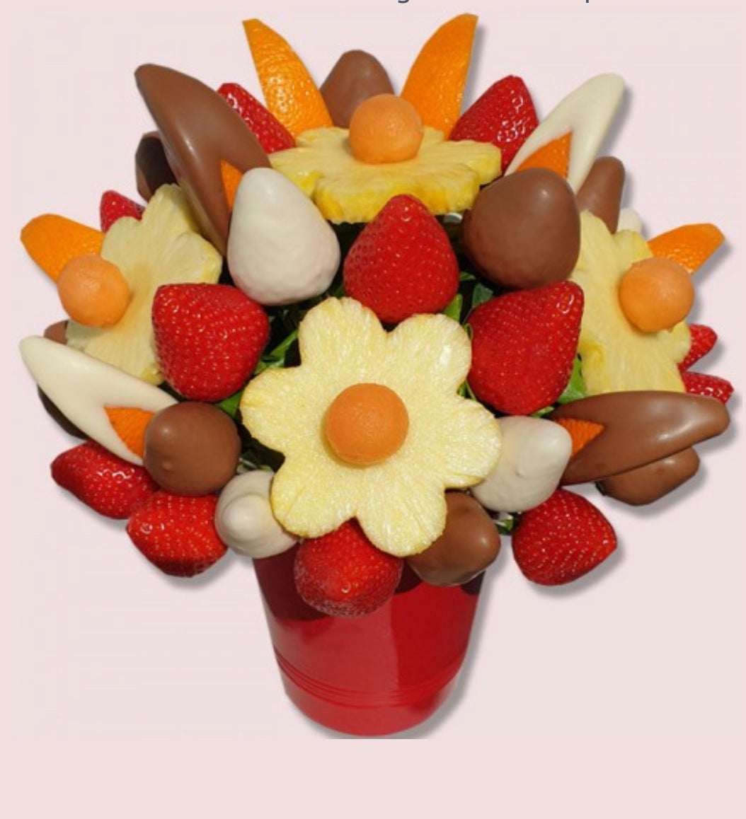 Delight Fruit Bouquet - Gift baskets by Amora