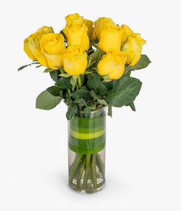 The Olive Branch - Yellow Roses - Gift baskets by Amora