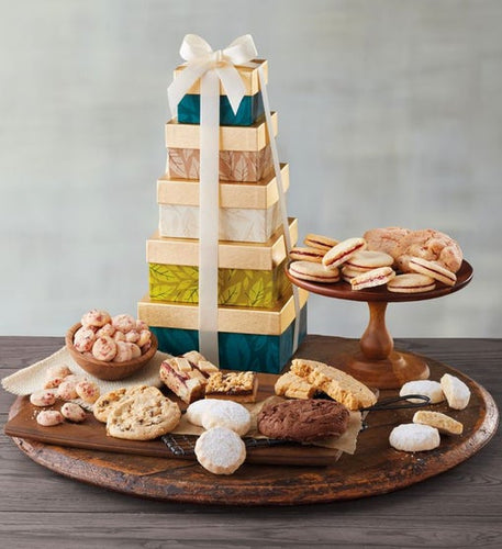 Tower of Cookies - Gift baskets by Amora