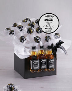 Whiskey and Chocolate Box - Gift baskets by Amora