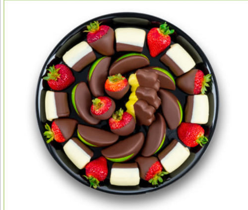 Ultimate Dipped Fruit Platter - Gift baskets by Amora