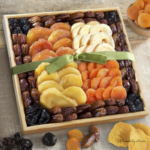 Mosaic Premium Dried Fruit Tray - Gift baskets by Amora