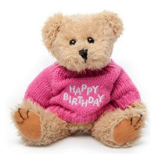 Happy Birthday Girl Teddy Bear - Gift baskets by Amora