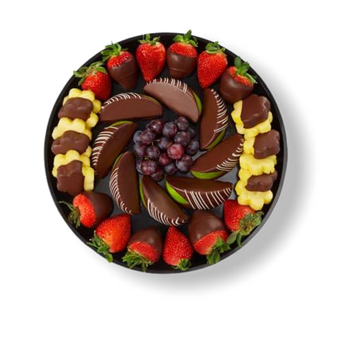 Chocolate Dipped Indulgence Platter - Gift baskets by Amora
