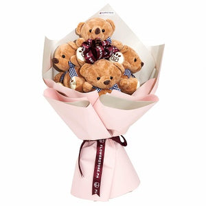Teddy Bear Hugs - Gift baskets by Amora