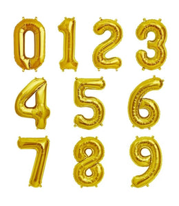 Numeric Balloons - Gift baskets by Amora