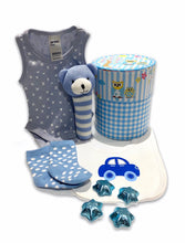 Load image into Gallery viewer, Dream Baby Boy Gift Hamper - Gift baskets by Amora