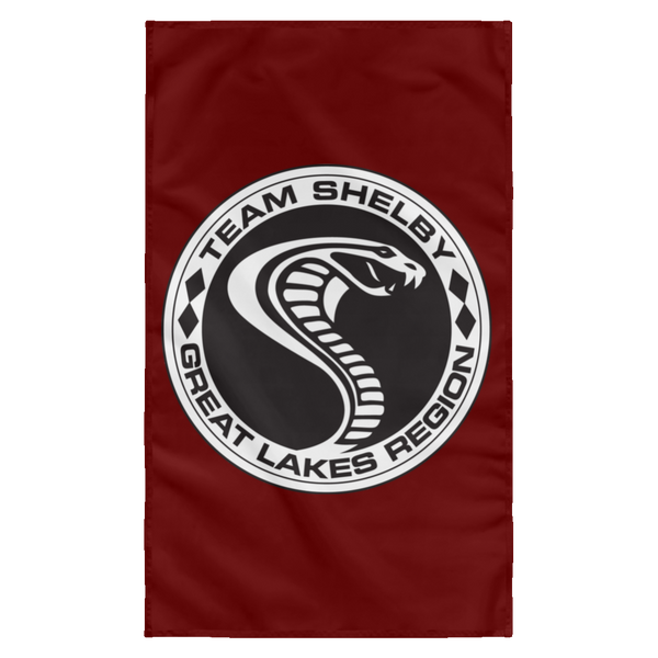 Team Shelby Great Lakes Wall Flag 3'x5'