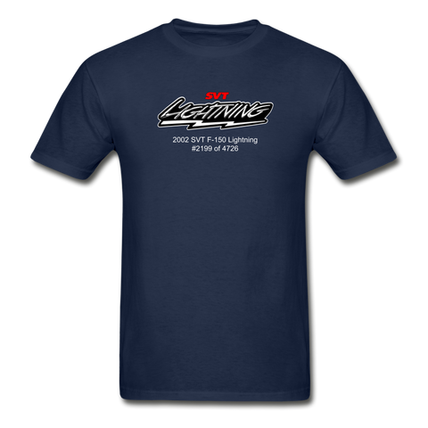Personalized SVT Lightning T-Shirt - navy