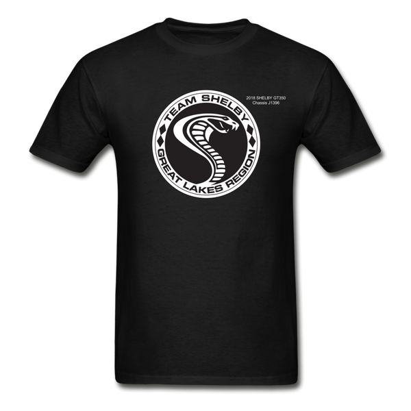 Personalized Team Shelby T-Shirt - black