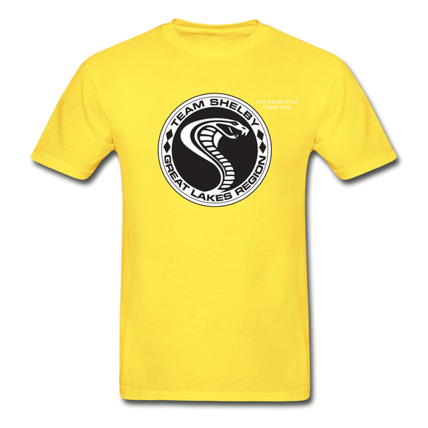 Personalized Team Shelby T-Shirt - yellow