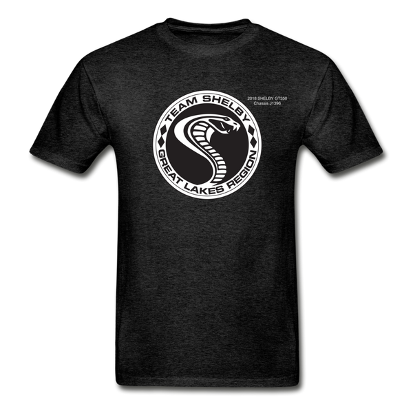 Personalized Team Shelby T-Shirt - charcoal gray