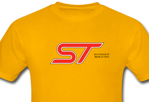 Personalized ST Logo T-Shirt - gold