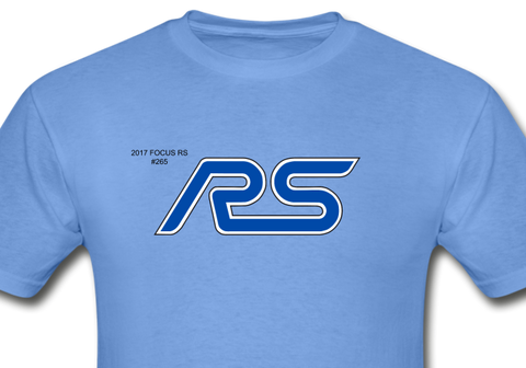 Personalized RS Logo T-Shirt - carolina blue
