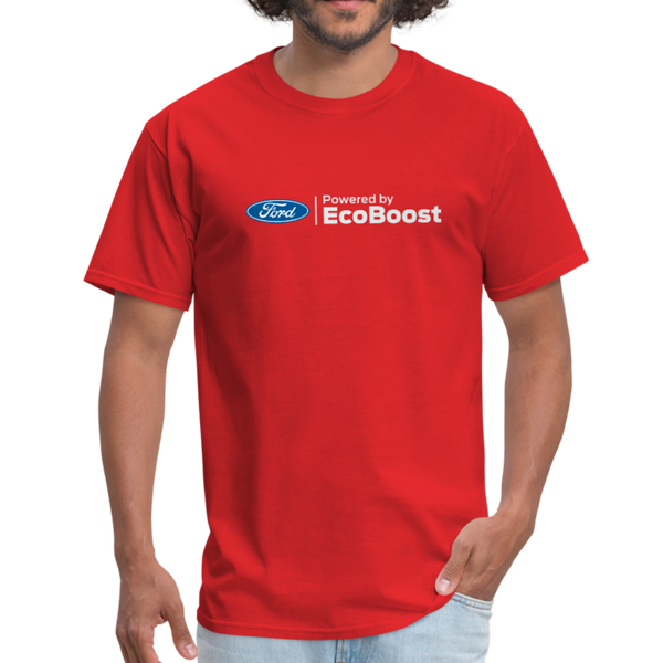 Powered by EcoBoost Logo T-Shirt - red