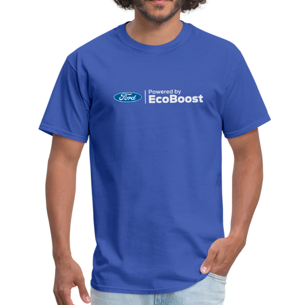 Powered by EcoBoost Logo T-Shirt - royal blue