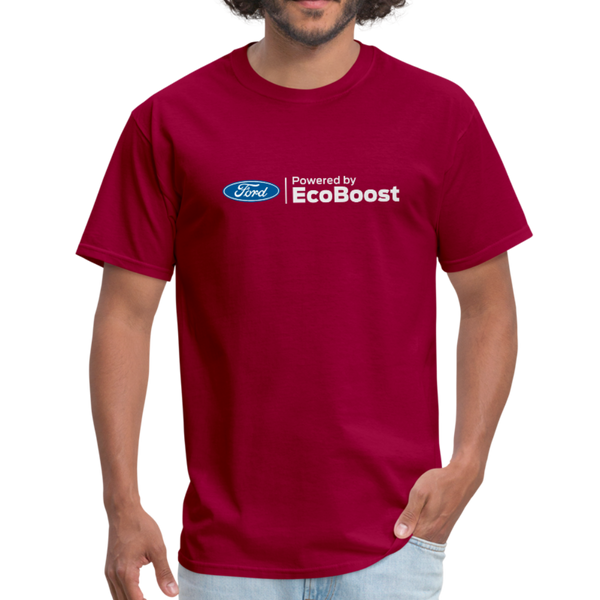 Powered by EcoBoost Logo T-Shirt - dark red