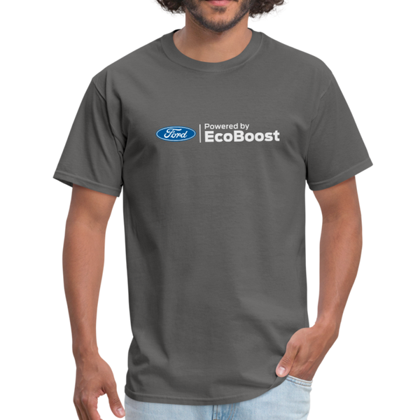 Powered by EcoBoost Logo T-Shirt - charcoal