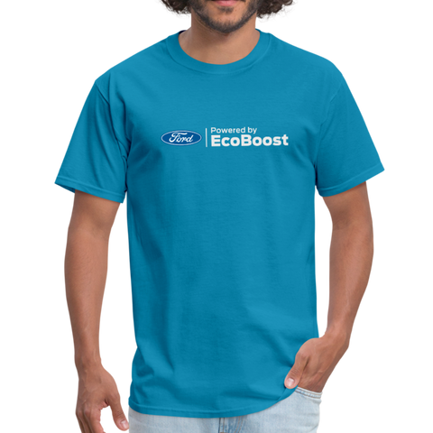 Powered by EcoBoost Logo T-Shirt - turquoise