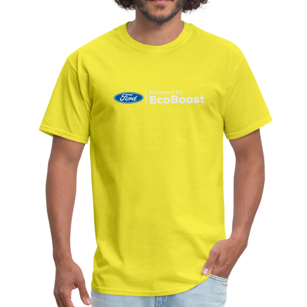 Powered by EcoBoost Logo T-Shirt - yellow