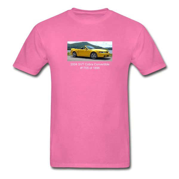 Personalized Photo T-Shirt - hot pink
