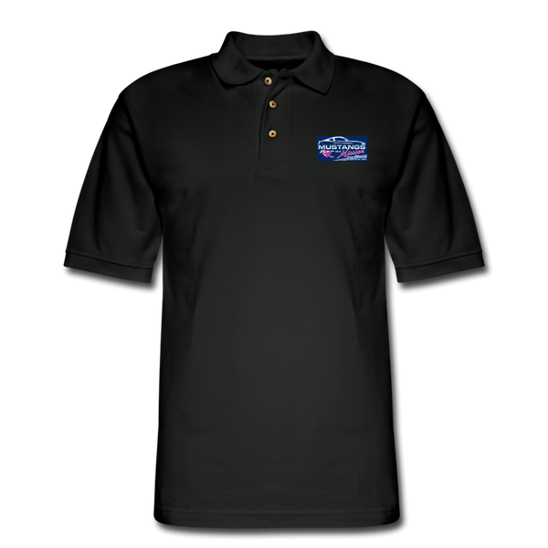 Mustangs on a Mission Experience Polo Shirt - black