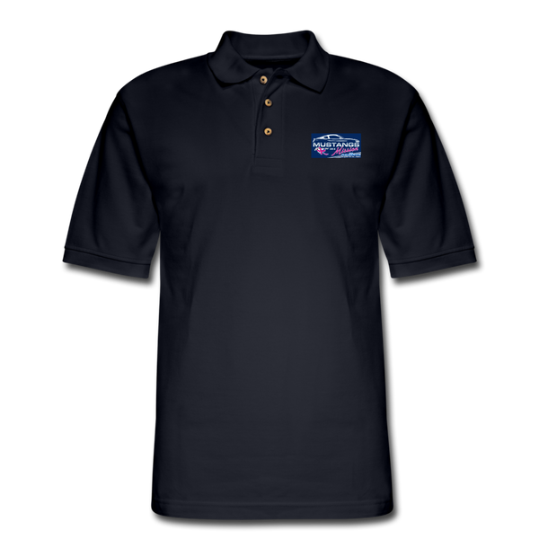 Mustangs on a Mission Experience Polo Shirt - midnight navy
