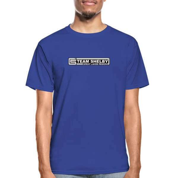 Team Shelby Racetrack Logo T-Shirt - royal blue