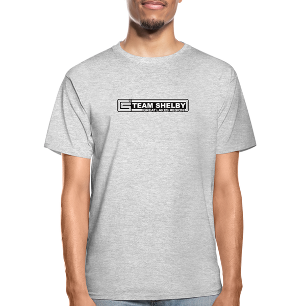 Team Shelby Racetrack Logo T-Shirt - heather gray