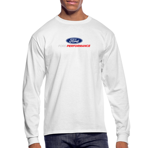 Ford Performance Long Sleeve T-Shirt - white