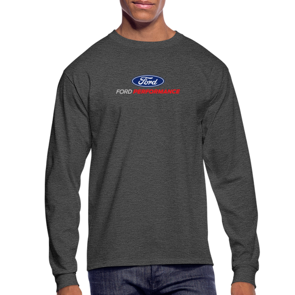 Ford Performance Long Sleeve T-Shirt - heather black
