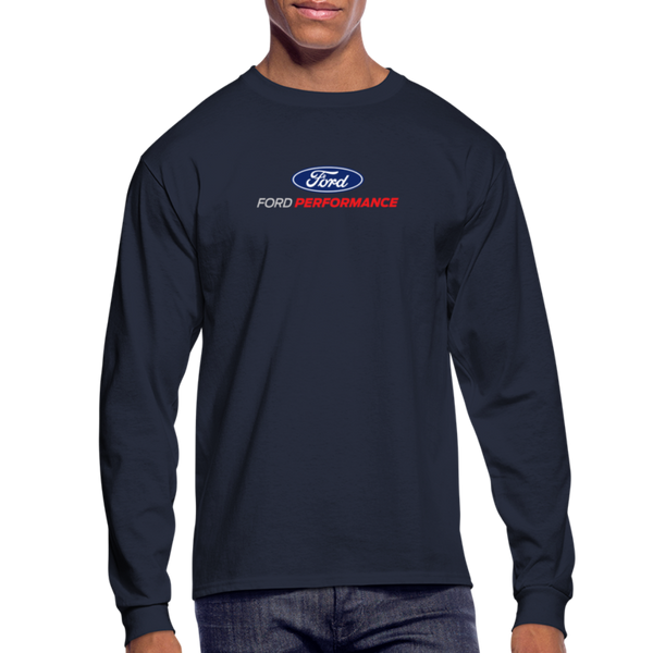 Ford Performance Long Sleeve T-Shirt - navy