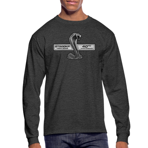 GT500KR 2008 Long Sleeve T-Shirt - heather black