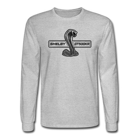 GT500KR 2009 Long Sleeve T-Shirt - heather gray
