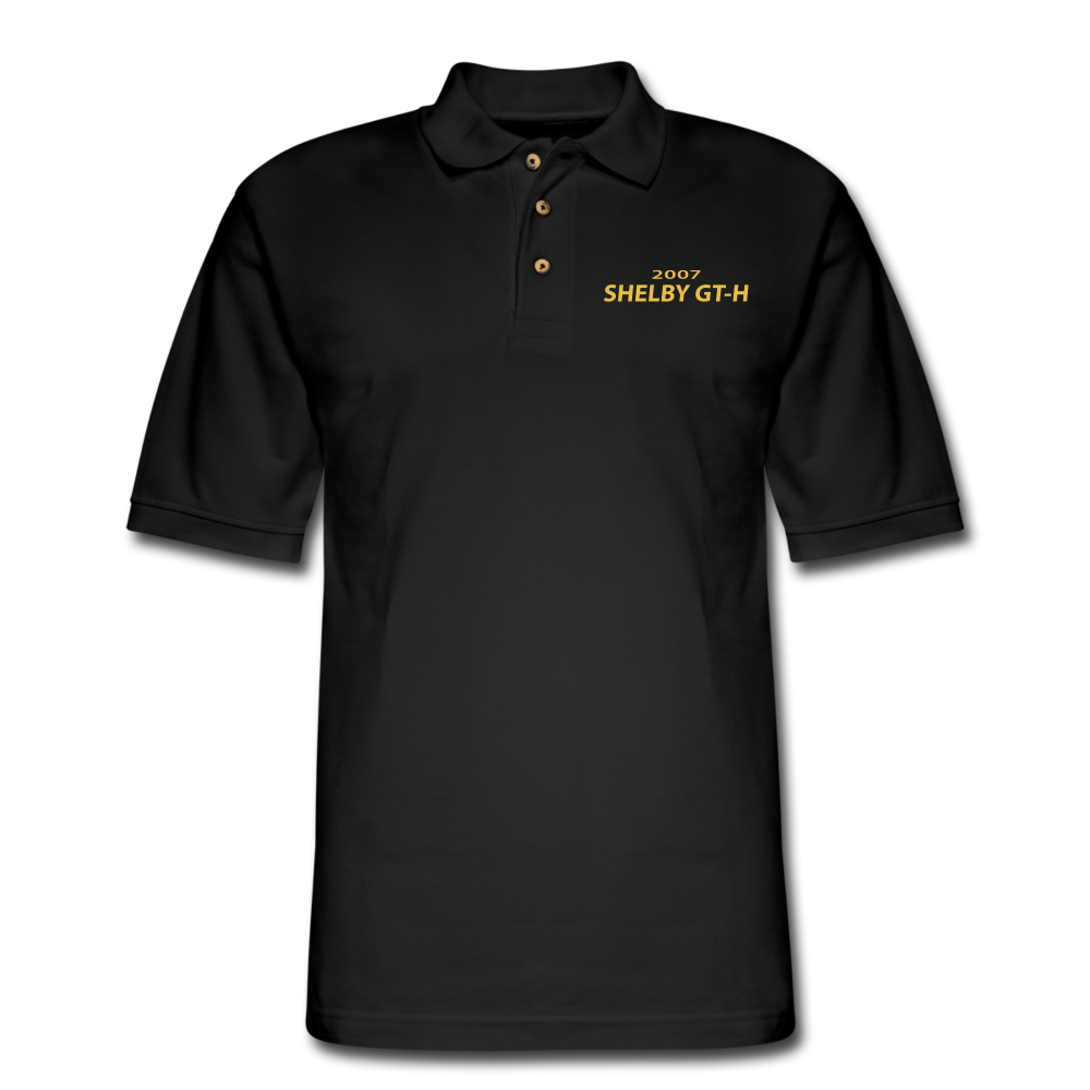 Shelby GT-H 2007 Pique Polo Shirt - black