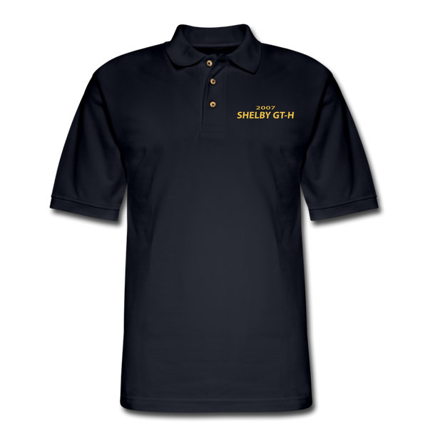 Shelby GT-H 2007 Pique Polo Shirt - midnight navy