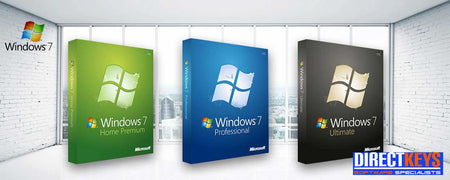 Windows 7 Professional and Upgrade products