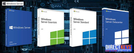 Full range of Windows Server products