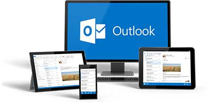 View Outlook on devices