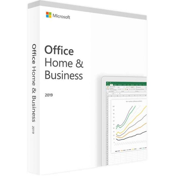 Microsoft Office 2019 Home and Business for Windows